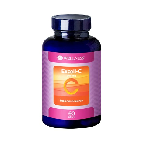 Excell C 500mg (60) Wellness